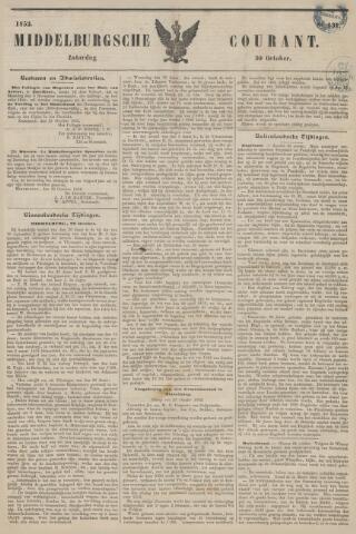 Middelburgsche Courant 1852-10-30