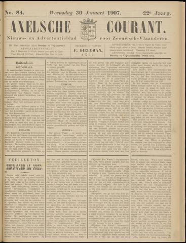 Axelsche Courant 1907-01-30