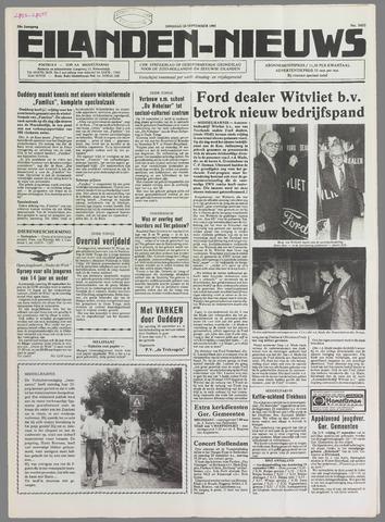 Eilanden-nieuws. Christelijk streekblad op gereformeerde grondslag 1985-09-24