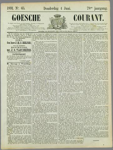 Goessche Courant 1891-06-04