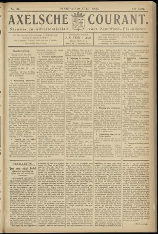 Axelsche Courant 1925-07-28