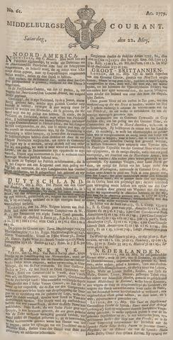 Middelburgsche Courant 1779-05-22