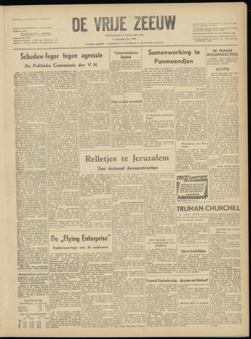 de Vrije Zeeuw 1952-01-09