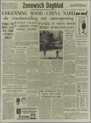 Zeeuwsch Dagblad 1962-02-15