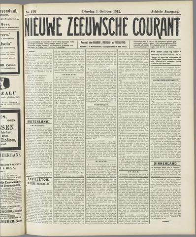 Nieuwe Zeeuwsche Courant 1912-10-01