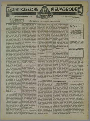 Zierikzeesche Nieuwsbode 1941-01-11