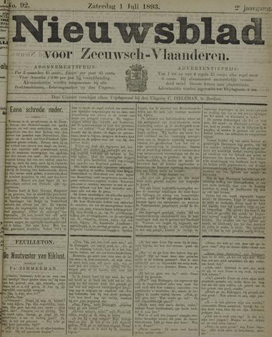 Nieuwsblad voor Zeeuwsch-Vlaanderen 1893-07-01