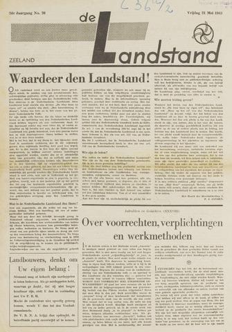 De landstand in Zeeland, geïllustreerd weekblad. 1943-05-21