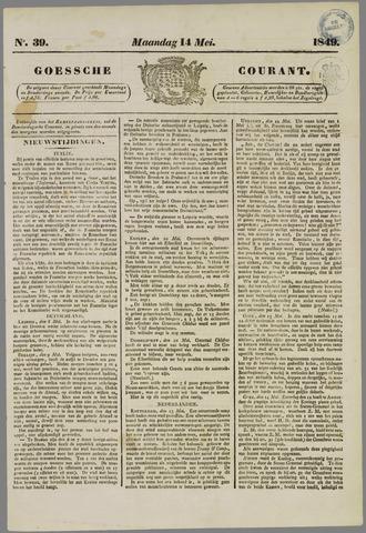Goessche Courant 1849-05-14