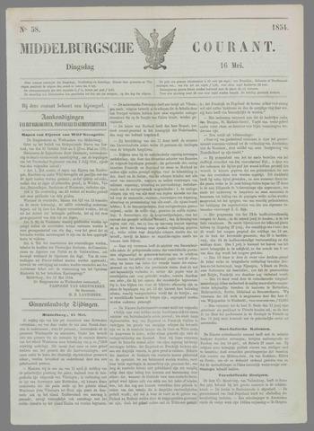 Middelburgsche Courant 1854-05-16