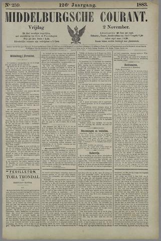 Middelburgsche Courant 1883-11-02