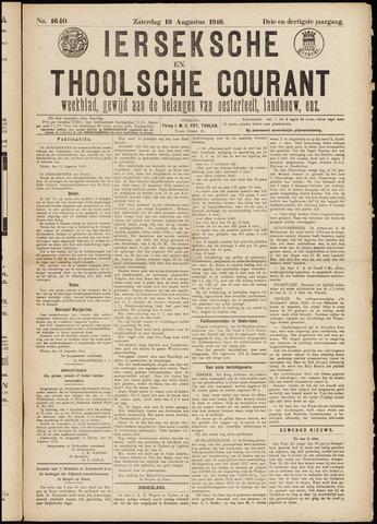 Ierseksche en Thoolsche Courant 1916-08-19