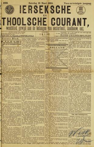 Ierseksche en Thoolsche Courant 1905-03-18