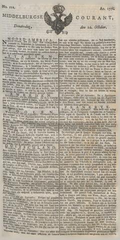 Middelburgsche Courant 1776-10-10
