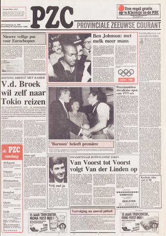 Provinciale Zeeuwse Courant 1988-09-28