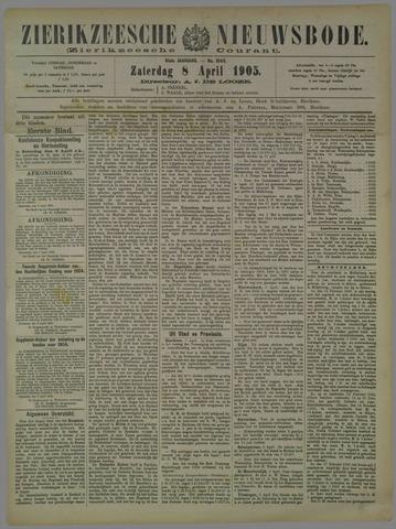Zierikzeesche Nieuwsbode 1905-04-08