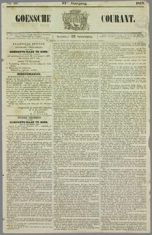 Goessche Courant 1857-11-23