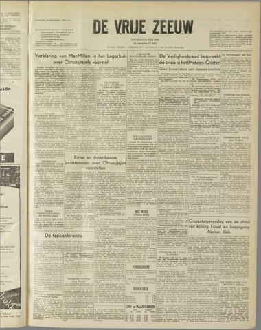 de Vrije Zeeuw 1958-07-22