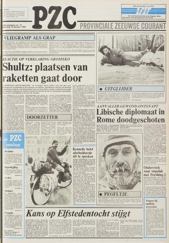 Provinciale Zeeuwse Courant 1985-01-14