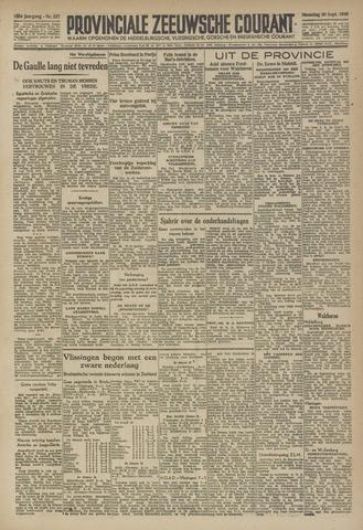 Provinciale Zeeuwse Courant 1946-09-30