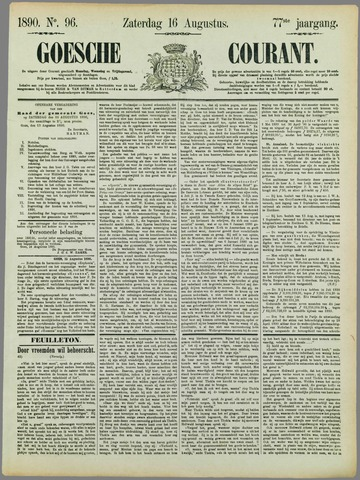 Goessche Courant 1890-08-16