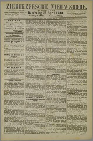 Zierikzeesche Nieuwsbode 1900-04-26