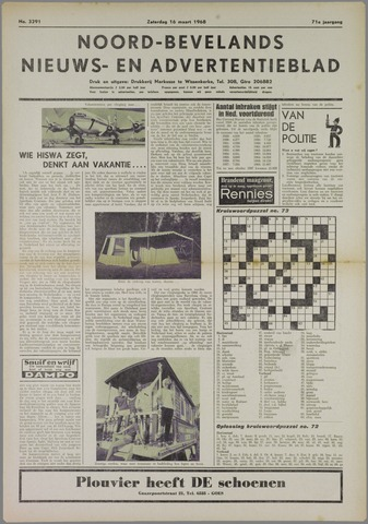 Noord-Bevelands Nieuws- en advertentieblad 1968-03-16