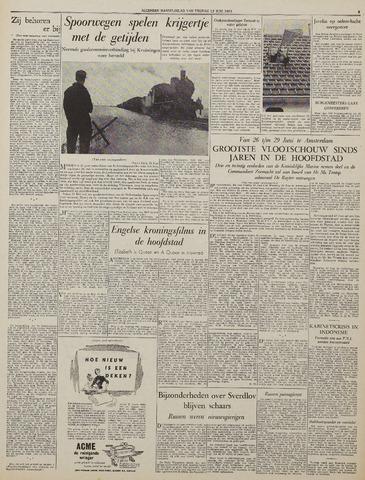 Watersnood documentatie 1953 - kranten 1953-06-12