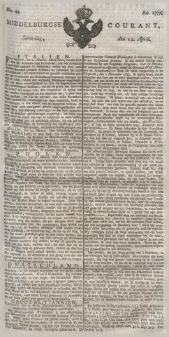 Middelburgsche Courant 1777-04-12