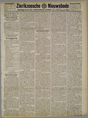 Zierikzeesche Nieuwsbode 1921-06-15