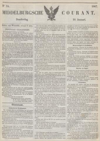 Middelburgsche Courant 1867-01-24