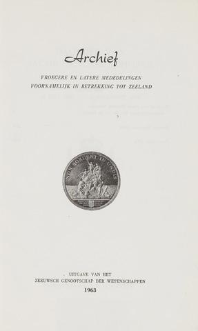 Archief 1963-01-01