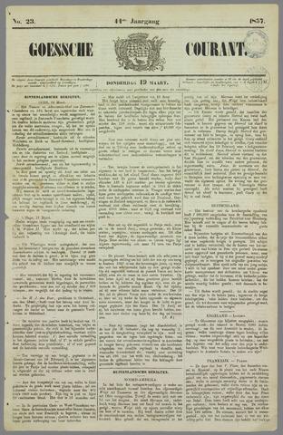 Goessche Courant 1857-03-19