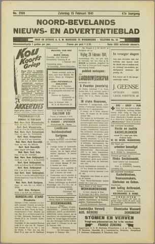 Noord-Bevelands Nieuws- en advertentieblad 1941-02-15