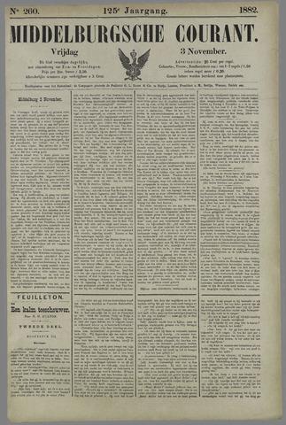 Middelburgsche Courant 1882-11-03