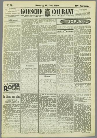 Goessche Courant 1929-06-11