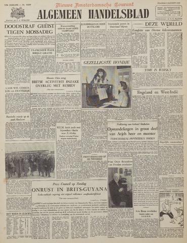 Watersnood documentatie 1953 - kranten 1953-10-05