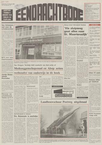 Eendrachtbode (1945-heden)/Mededeelingenblad voor het eiland Tholen (1944/45) 1989-02-23