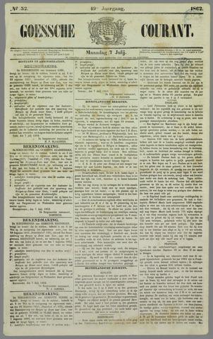 Goessche Courant 1862-07-07