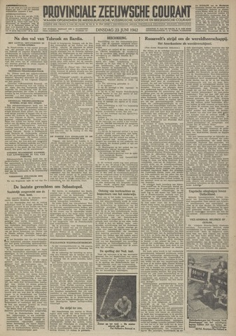 Provinciale Zeeuwse Courant 1942-06-23