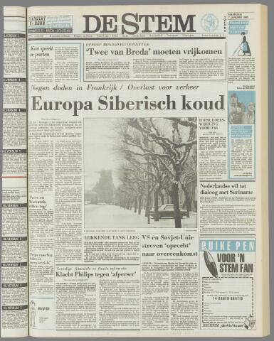 de Stem 1985-01-07