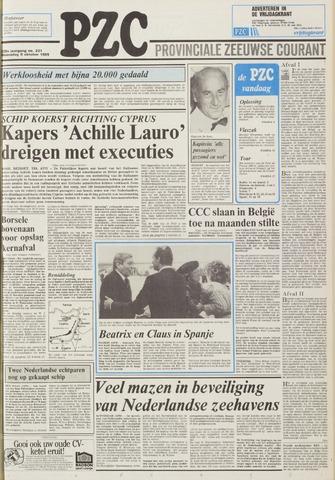 Provinciale Zeeuwse Courant 1985-10-09