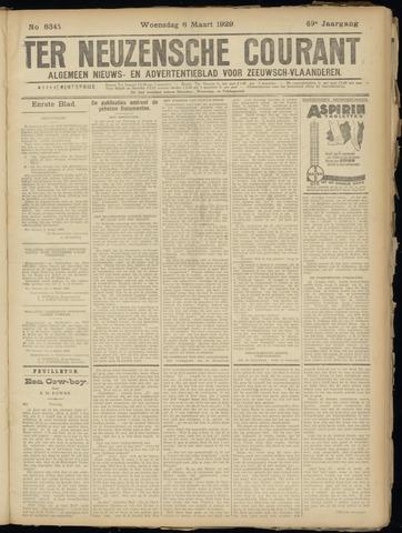 Ter Neuzensche Courant. Algemeen Nieuws- en Advertentieblad voor Zeeuwsch-Vlaanderen / Neuzensche Courant ... (idem) / (Algemeen) nieuws en advertentieblad voor Zeeuwsch-Vlaanderen 1929-03-06
