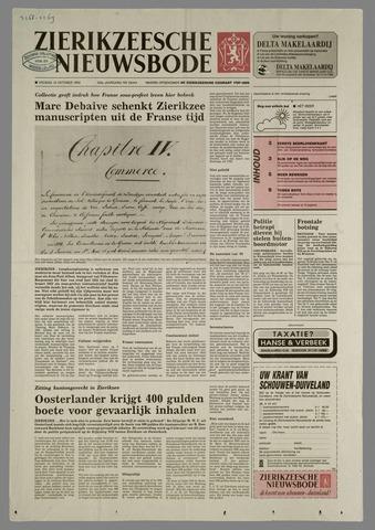 Zierikzeesche Nieuwsbode 1993-10-15
