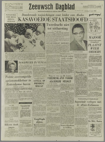 Zeeuwsch Dagblad 1960-06-25