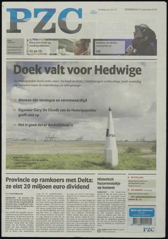 Provinciale Zeeuwse Courant 2014-11-13