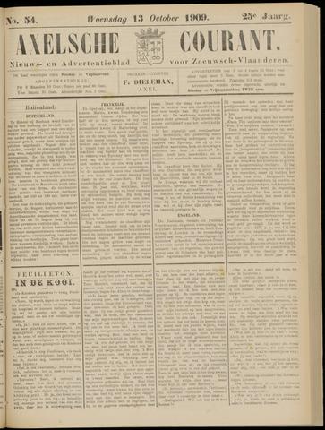Axelsche Courant 1909-10-13