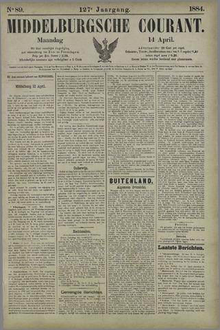 Middelburgsche Courant 1884-04-14