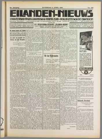 Eilanden-nieuws. Christelijk streekblad op gereformeerde grondslag 1940-04-06