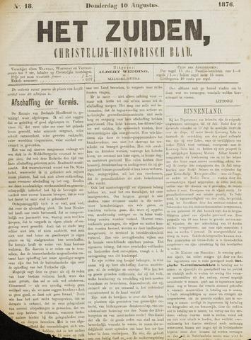 Het Zuiden, Christelijk-historisch blad 1876-08-10